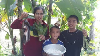 Asian food , Awesome Cooking A mok fish Recipe - Cook  fish Recipes -  Village Food Factory