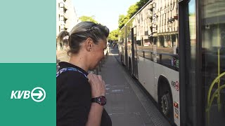 Ein Tag im Leben einer KVB-Busfahrerin