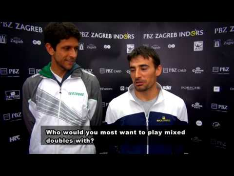 8 Questions with... Ivan Dodig and Marcelo Melo - PBZ Zagreb Indoors