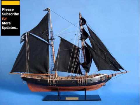 Antique, Modern And Wooden Model Ships