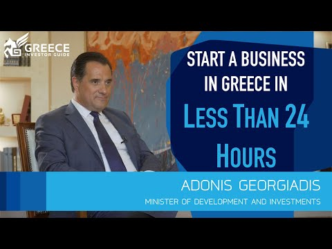 Adonis Georgiadis, Minister of Development and Investments - Greece Investor Guide (2)