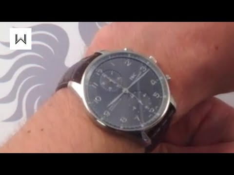IWC Portuguese Chronograph 3714-31 Luxury Watch Review