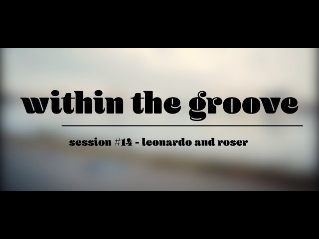within the groove #14 - Leonardo and Roser