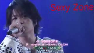 Sexy Zone - 4 Seasons