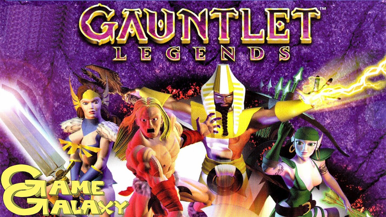 Gauntlet Legends Review Game Galaxy Youtube