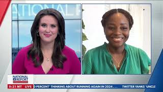 Denisha Merriweather - Newsmax The National Report 4.30.21