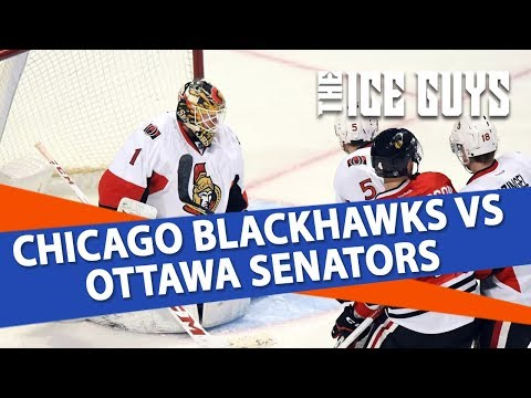 Chicago Blackhawks vs Ottawa Senators | NHL Picks | The Ice Guys