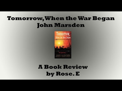 ≈Tomorrow, When the War Began, John Marsden – A Book ≈