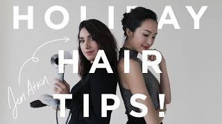4 DIY Holiday Hairstyles w/Jen Atkin