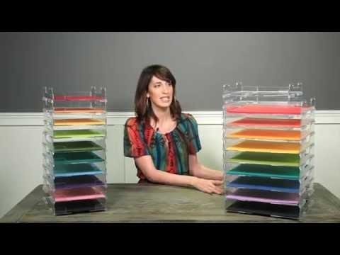 Umbrella Crafts -  Stackable Paper Trays