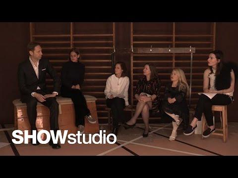 Maison Margiela - Haute Couture Spring / Summer 2015 Panel Discussion