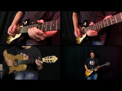 Pink Floyd  Dogs  guitar
