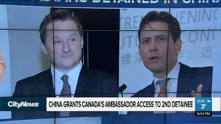 Canada granted access to China detainee