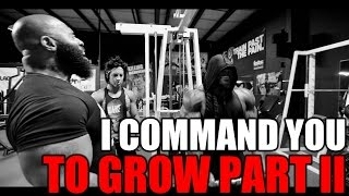 I COMMAND YOU TO GROW PART 2: CT Fletcher + Dana Linn Bailey + Kai Greene thumbnail
