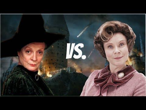 Minerva Mc Gonagall Vs Dolores Umbridge