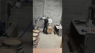 Time lapse of cask filling at Lindores Abbey Distillery