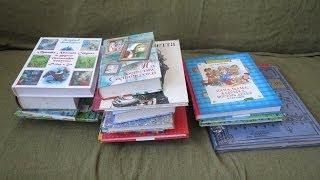 Большая посылка с книгами для детей к Новому году!
