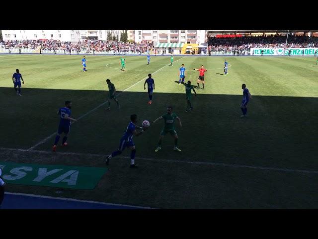 Yeni Amasyaspor 4-0 Merzifonspor (İlk Yarı)
