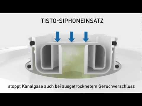 funktion bodenablauf tistoprimus von dallmer youtube. Black Bedroom Furniture Sets. Home Design Ideas