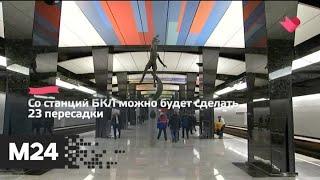 """""""Это наш город"""": пассажиры метро воспользовались БКЛ около 58 млн раз - Москва 24"""