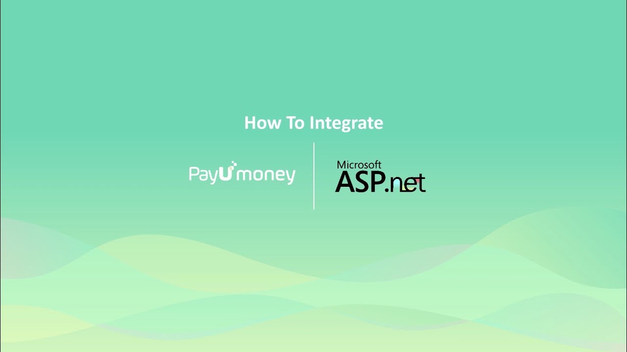 how to integrate payumoney payment gateway in asp net website youtube