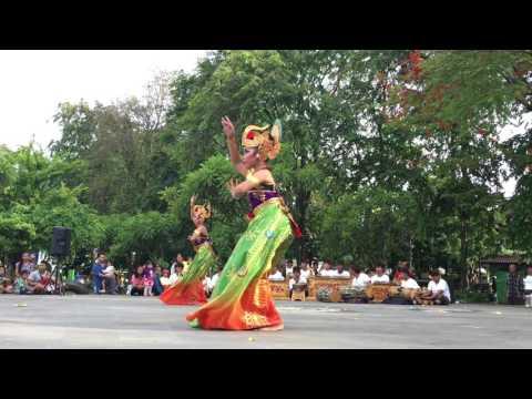 Tari Merak Angelo, Pentas Budaya Kota Denpasar 2017, Sanggar Sekar Mangaronce Yangbatu
