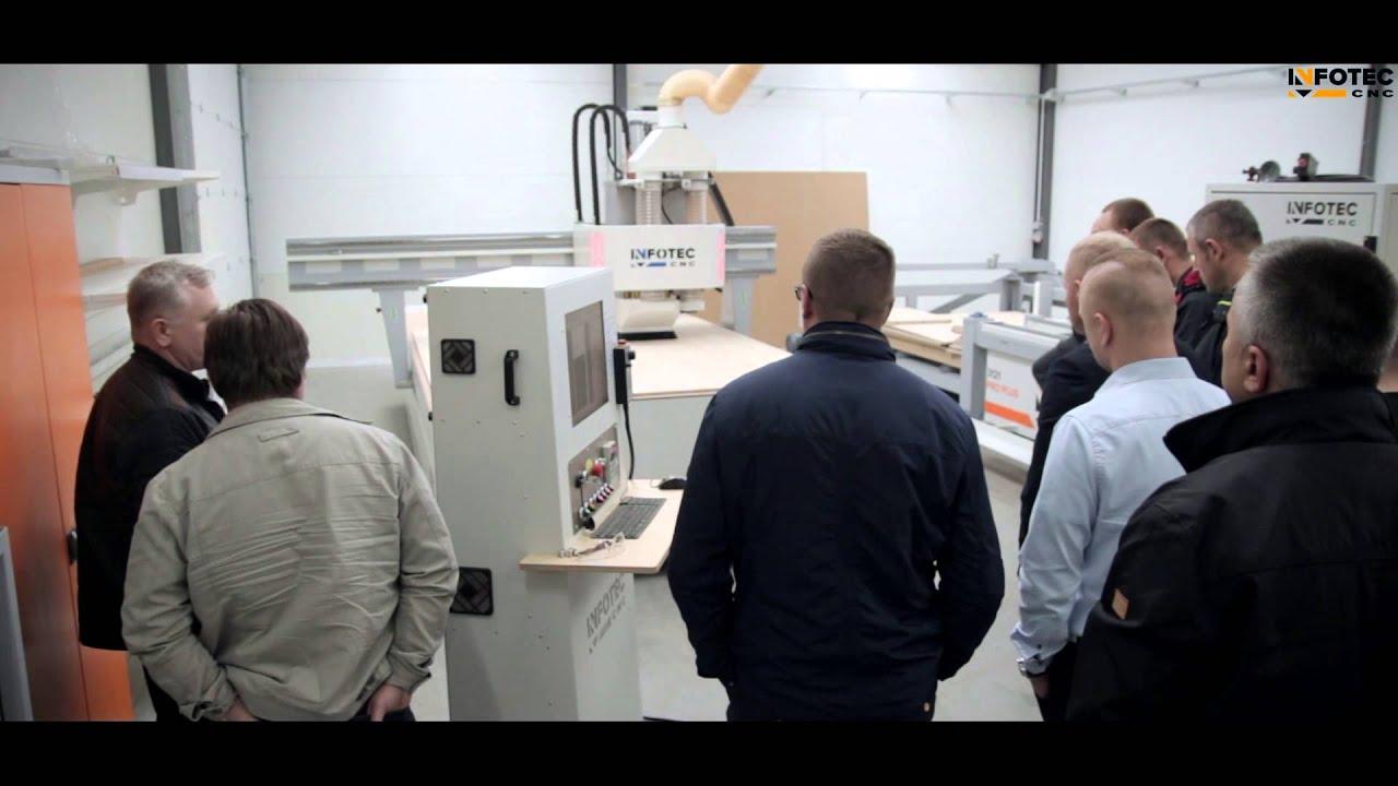 Projektowanie mebli | Praktyczne warsztaty InfoTEC CNC