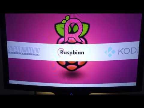 Raspberry Pi3 with Retropie  **Emulationstation + Kodi + Raspbian** - Final Edition 2016