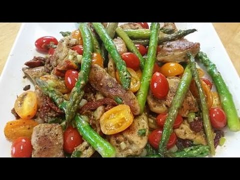 Pesto Chicken With Sun Dried Tomatoes Episode 128