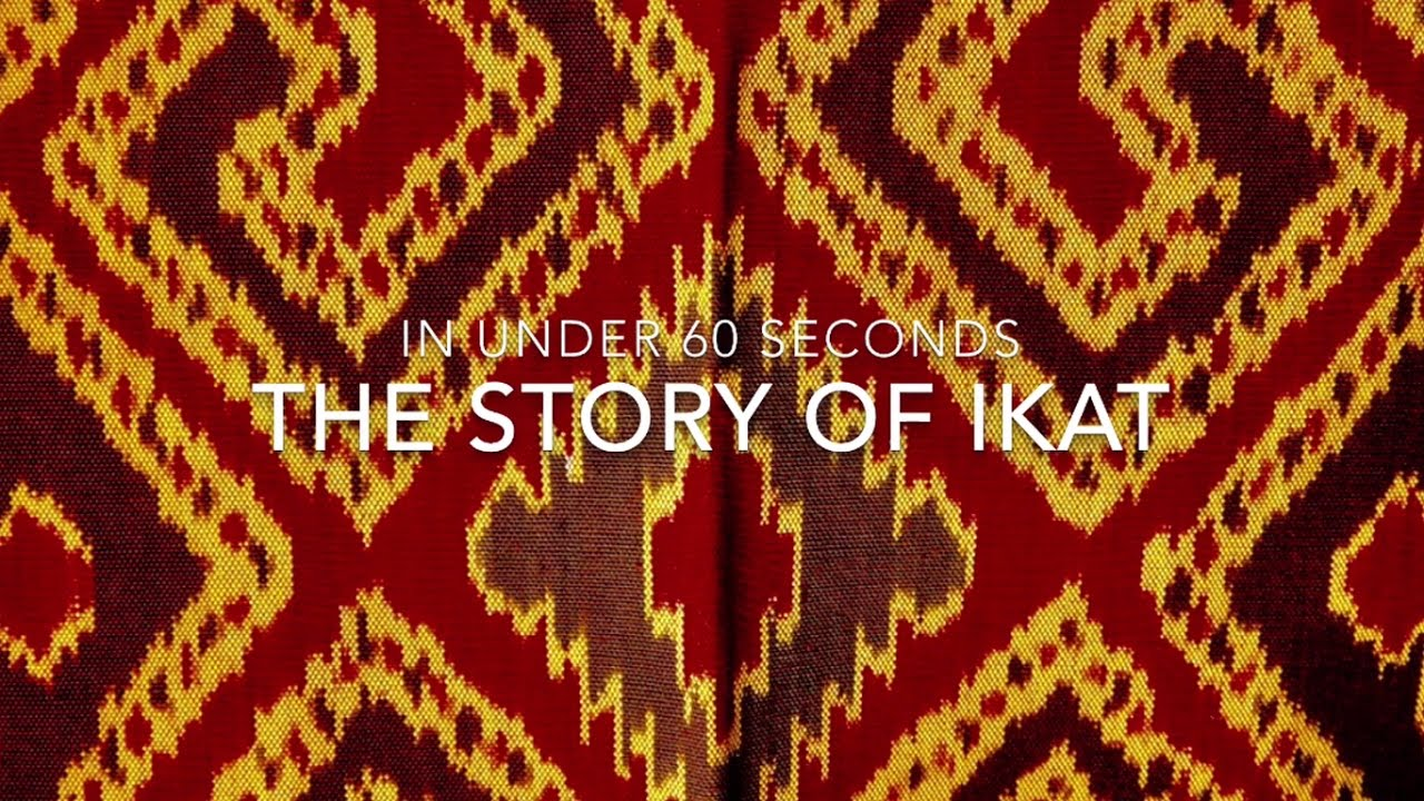 The Story Of Ikat In Under Seconds