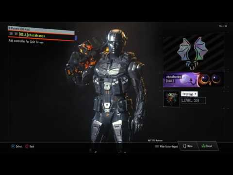 BLACK OPS 3 Spectre Chrome Outfit