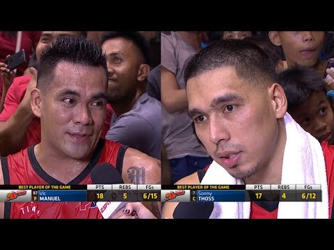 Best Players: Vic Manuel and Sonny Thoss | PBA Philippine Cup 2018