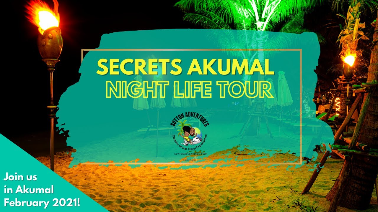 There's so much to do, day and night, at Secrets Akumal!