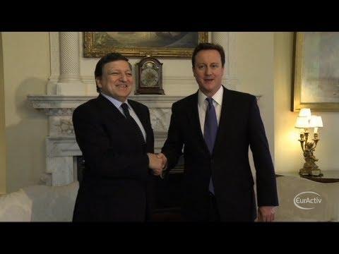 Cameron hits back at Barroso in eurosceptic row