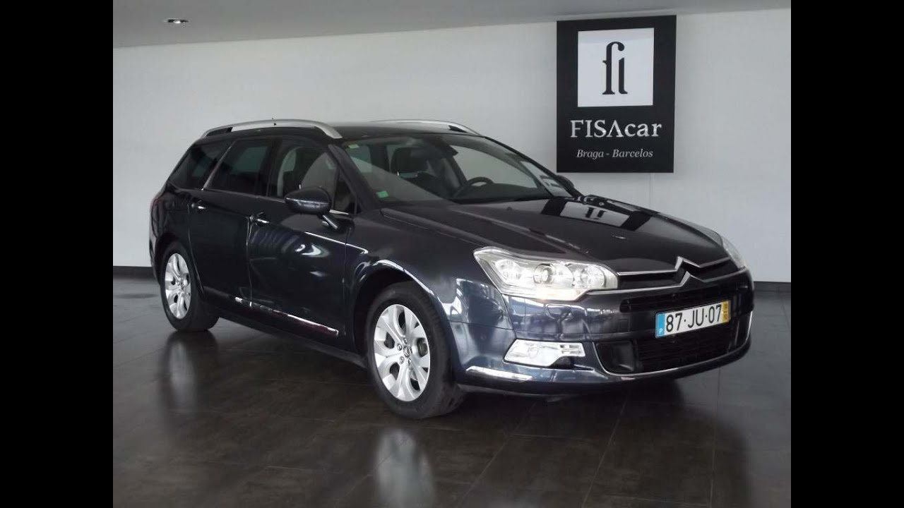 citroen c5 tourer exclusive 2 0 hdi 163 cv youtube. Black Bedroom Furniture Sets. Home Design Ideas