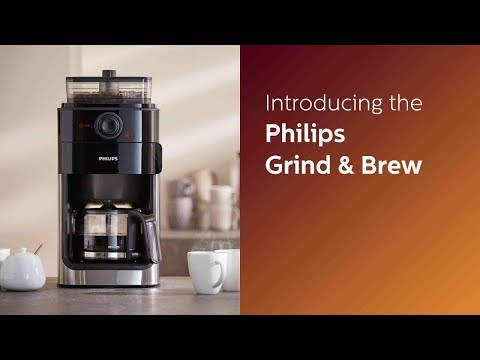 Introducing the Philips Grind & Brew HD7762 Coffee machine
