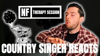Country Singer Reacts To NF Therapy Session