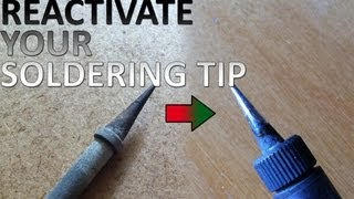 How to refurbish a dead soldering tip
