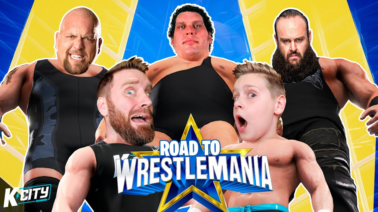 Super Heavyweight Challenge! (Road to WWE WrestleMania Level 2) K-CITY GAMING