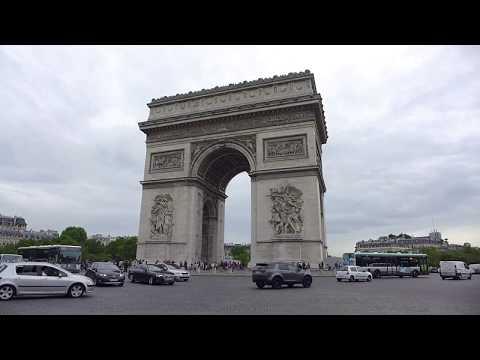 Paris, France - Arc De Triomphe (2018)