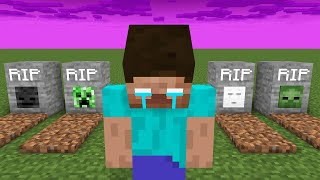 Monster School : All Sad Story - Minecraft Animation