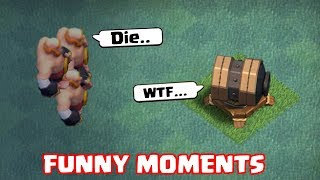 Clash of Clans Funny Moments Montage | COC Glitches, Fails, Wins, and Troll Compilation #30