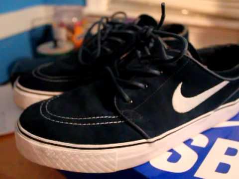 hot sale online e4f0a a4241 CUT CUSTOM Nike SB Janoski Mids City Navy