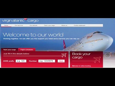 Virgin Atlantic Cargo Tracking,Virgin Atlantic Air Cargo Tracking Status