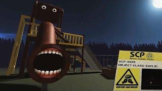 恐怖の「人喰いすべり台」が追ってくるSCP公園で次々と人が食べられてしまう。ロブロックス【ROBLOX】