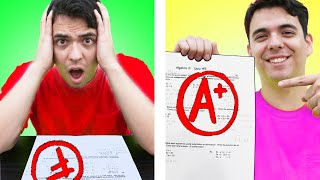 5 EXPECTATIONs VS REALITY IN COLLEGE HACKS  AWKWARD SITUATIONS AND FUNNY MOMENTS IN SCHOOL