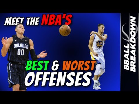 Meet The NBA's BEST And WORST Offenses
