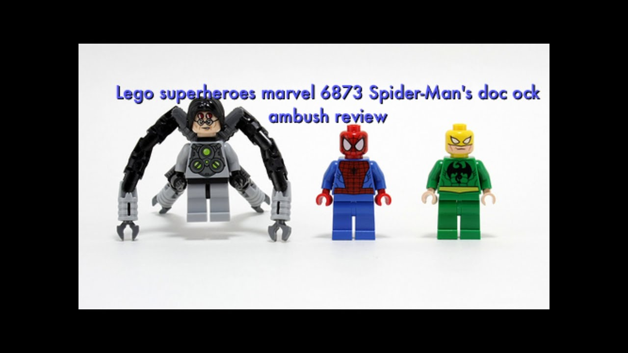 Doc Ock 6873 - Figur Minifig Doc-Ock Marvel Spiderman 6873 LEGO Super Heroes