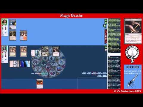 Magic Battles Modern Budget MonoU Affinity vs Slivers plus Bonus Fiend Combo