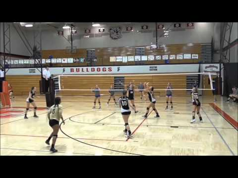Jazzlyn Wells Volleyball Highlights 2015